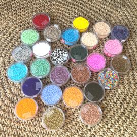 Doosje Rocailles Seadbeads 2,5mm Colormix