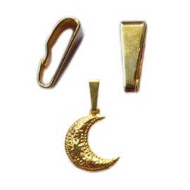 Luxe Haakje voor Bedel goud of zilver