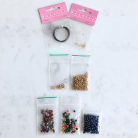 DIY Kralen pakketje Colormix 'Herfst' ketting en armband
