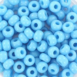 Miyuki Rocailles 6/0 Opaque turkoois blauw