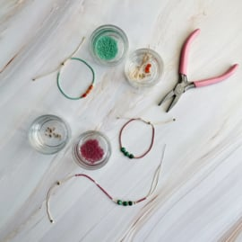 DIY Miyuki Delica armbandjes maken