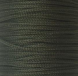 Koord 0,8 of 1,5 mm Olijfgroen Donker