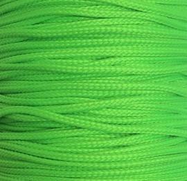 Koord 0,8 of 1,5 mm Neon Groen