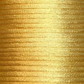 Satijnkoord 2,5mm Geel goud cartierknoop