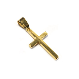 Hanger kruis verguld goud