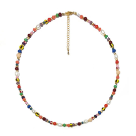 Ketting Colormix zoetwaterparel