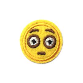 Patch - Strijkplaatje Smiley