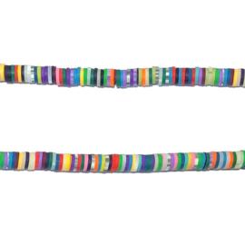 Streng schijfjes kralen Balance Multicolor 38-39 cm