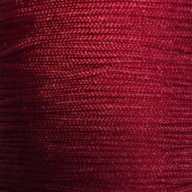 Satijnkoord Rood 1mm