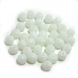 Kraaltjes Wit 4mm