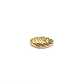 Verguld gouden blaadje kraal