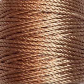 Nylon Koord S-Lon 0,9 mm Licht bruin