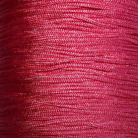 Satijnkoord Roze 0,9mm