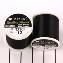 Miyuki Beading Thread 330dtex 12 Zwart