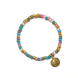 Armband Rocailles Sunny colormix