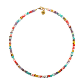 Ketting kort multicolor