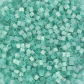 Miyuki Delica Silk satin aqua groen 2mm