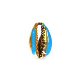 Kaurischelp Turkoois goud
