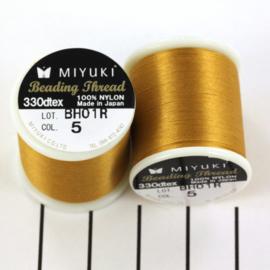 Miyuki Beading Thread 330dtex 05 Goud