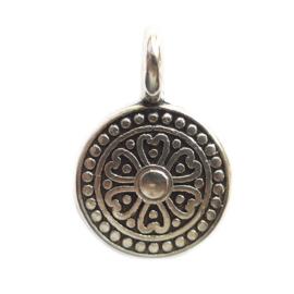 Tibetaans Bedel munt zilver