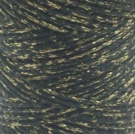 Waxkoord Zwart Goud