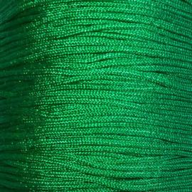 Satijnkoord Groen 0,9mm