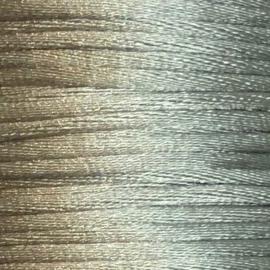 Satijnkoord 2,5mm Grijs cartierknoop