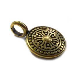 Tibetaans Bedel munt mat goud