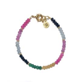 Armband Rainbow jade