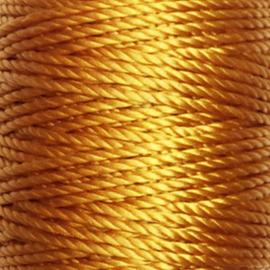 Nylon Koord S-Lon 0,9 mm Okergeel