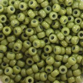 Miyuki Rocailles 8/0 Groen Opaque Cactus