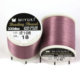 Miyuki Beading Thread 330dtex 18 Lila paars