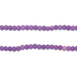 Streng Purple Jasper 3mm rond kralen 39 cm