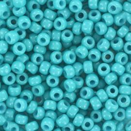 Miyuki Rocailles 8/0 Duracoat opaque Underwater Blue