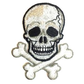 Patch - Strijkplaatje Doodshoofd Skull