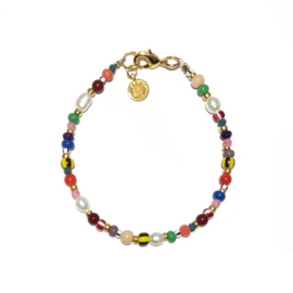 Armband Colormix Zoetwaterparel