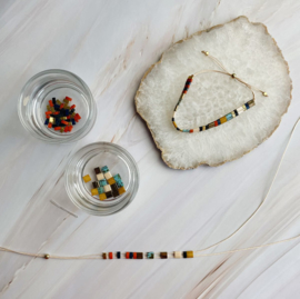 DIY Miyuki Tila armbandje maken