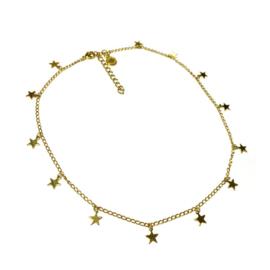 Ketting goud sterren