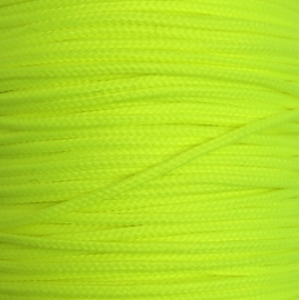Koord 0,8 of 1,5 mm Neon Geel