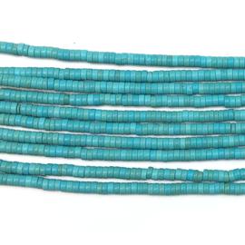 Streng kralen Howliet Turkoois 39-40 cm