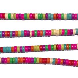 Streng kralen Howliet Multicolor 39-40 cm