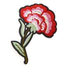 Patch - Strijkplaatje roos Bloem