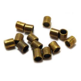 Knijpkraal tube mat goud brons