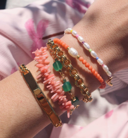 Chunky Schakel Armband
