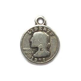 Bedel munt zilver liberty