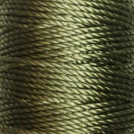 Nylon Koord S-Lon 0,9 mm Olijfgroen