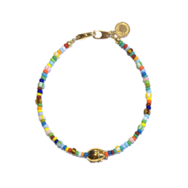 Armband rocailles colormix Scarabee