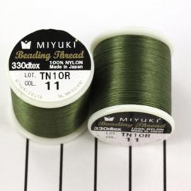 Miyuki Beading Thread 330dtex 11 Groen