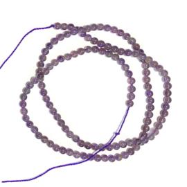 Streng kralen Amethyst 40 cm