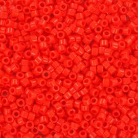 Miyuki Delica Opaque vermillion red